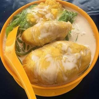 Bật mí cách làm chè bánh lọt sầu riêng chuẩn vị Malaysia thơm ngon cực dễ làm