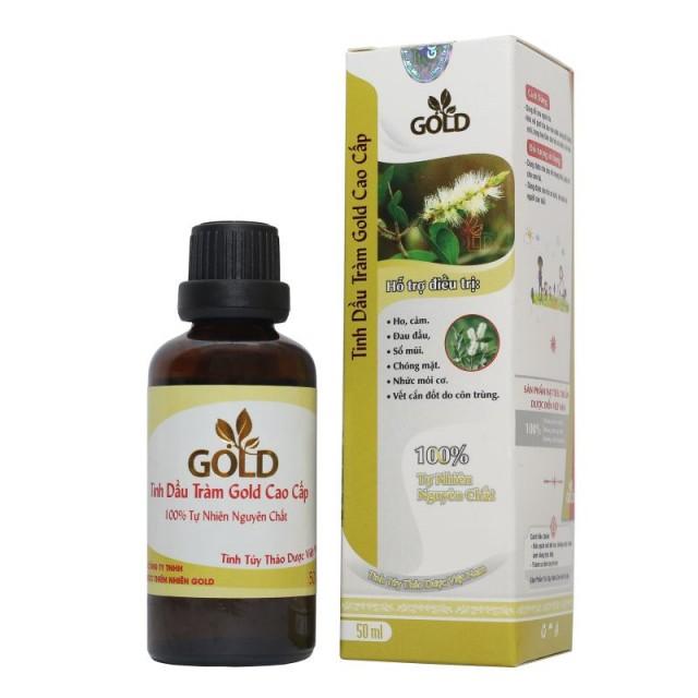 Tinh Dầu Tràm Gold Cao Cấp (50ml)