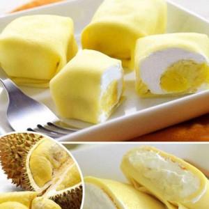 Công thức làm bánh Crepe sầu riêng siêu nhanh