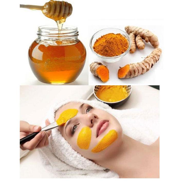 Mặt nạ mật ong nghệ giúp bạn có làn da láng mịn