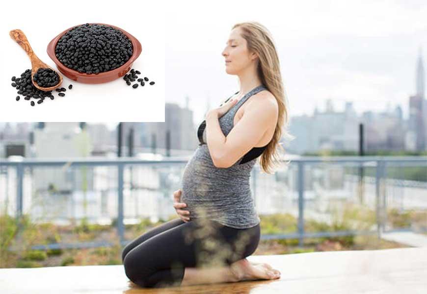 Phụ nữ mang thai nên sử dụng đậu đen