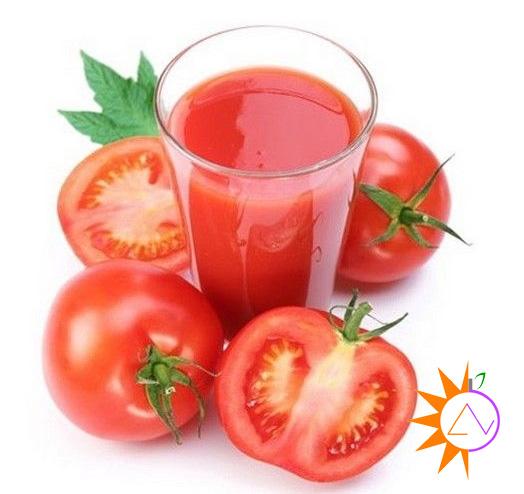 Nước ép cần tây cà chua