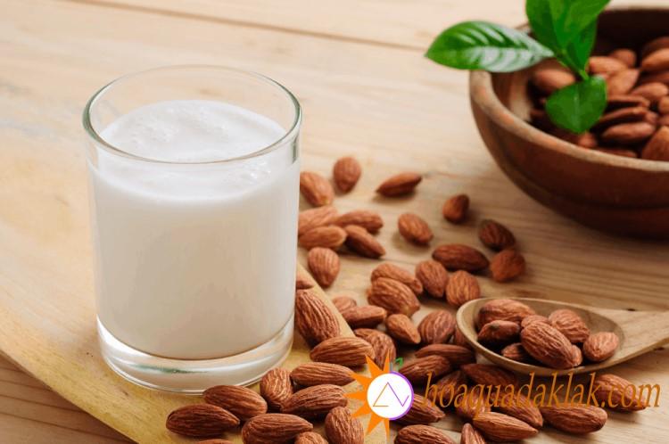 Mặc dù lượng calo trong sữa hạnh nhân thấp hơn các loại sữa khác nhưng thành phần dinh dưỡng thì không hề thua kém
