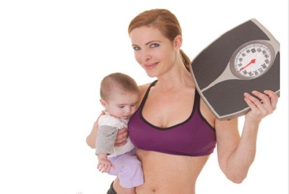cách giảm cân cho phụ nữ sau sinh